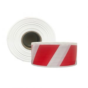 Red & White Striped Barrier Tape