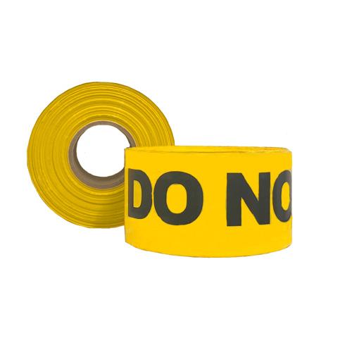 Do Not Use Barrier Tape