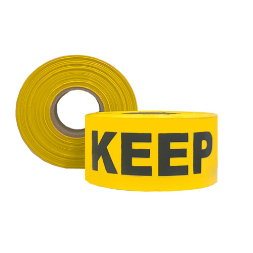 Keep Clear Barrier Tape
